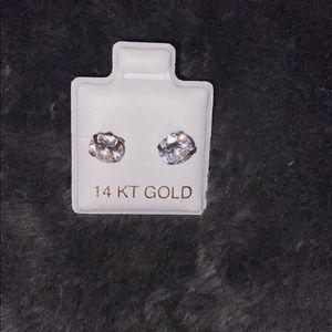 14k gold studs